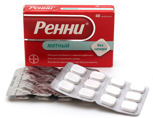 Недорогие лекарства от изжоги: цена